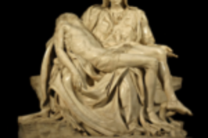Michellangelo Pietà statue in Saint Peter's Church