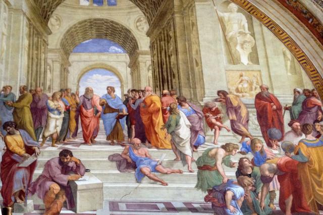 Scuola di Atene - Raffaello